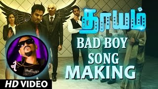 Bad Boy Song Making Video Dhayam | SanthoshPrathap | KannanRangaswamy| Kavidhai Gundar Emcee Jesz
