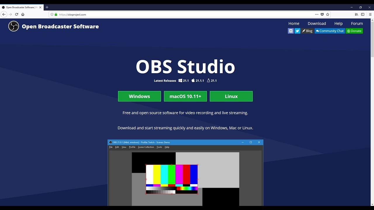 Obs streaming encoder software or hardware