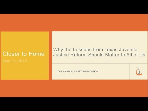 Why the Lessons from Texas Juvenile Justice Reform Should Matter to All of Us