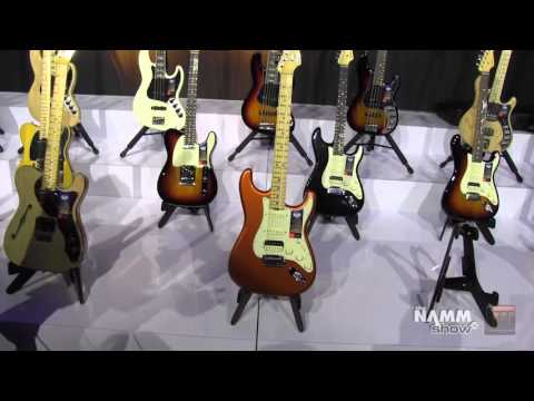 Long & McQuade @ NAMM 2016: Fender American Elite Series
