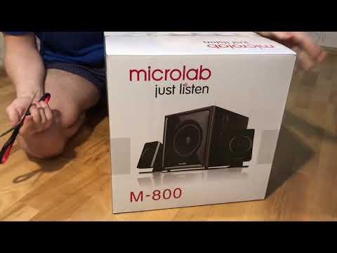 Акустична система Microlab M-800 black
