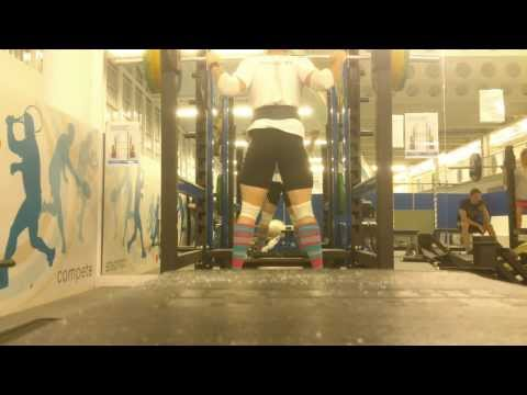 Stuart Cadger Pause Squat 140kg December 2013