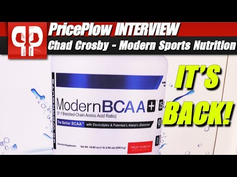 Modern BCAA is BACK: Now Owned by Modern Sports Nutrition