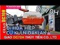 T.TIÊN-GIAO máy gặt lúa KUBOTA DC70 hàng 80% về HÒA HIỆP.CƯ KUL.DAKLAK-01239000100