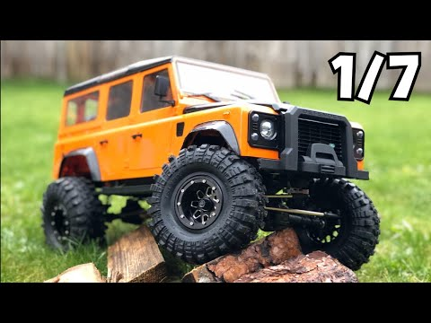 I Broke My 1/7 Crawler, 3s Double E 1/8 Land Rover Upgraded. E101=003