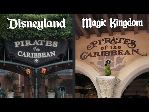 The Differences Between: Disney's Pirates of the Caribbean