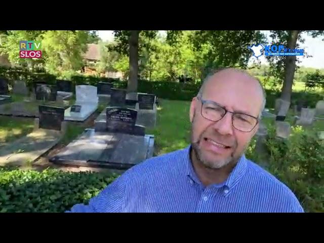 DS Johan Menkveld in de uitzending van Kop d'r Veur op 24 juni 2020