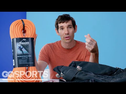 10 Things Alex Honnold Can't Live Without   GQ Sports