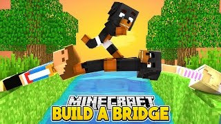 Minecraft Bed Wars - WORLD'S MOST ANNOYING BRIDGE DEFENCE - Little Club Baby Max Games and Gaming