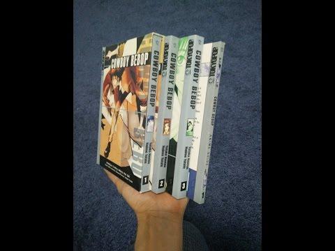 Premium Cowboy Bebop Manga box set Unboxing