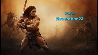 Conan Exiles dev stream: Testlive Update, Bow Changes, Katana