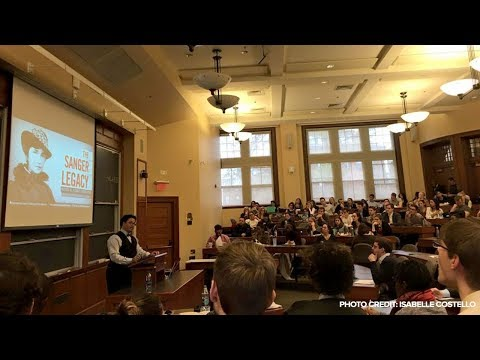 Ryan Bomberger Speaks at Harvard Law School