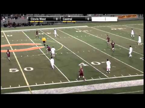2013 CIF Central Division I Boys Soccer Final- Clovis West vs. Central
