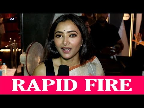Checkout super fun Rapid Fire with the beautiful Shweta Basu Prasad