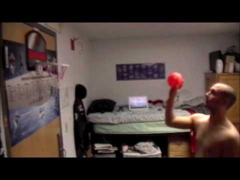 Awesome SHU Dorm Room Ballers   YouTube Awesome Ideas