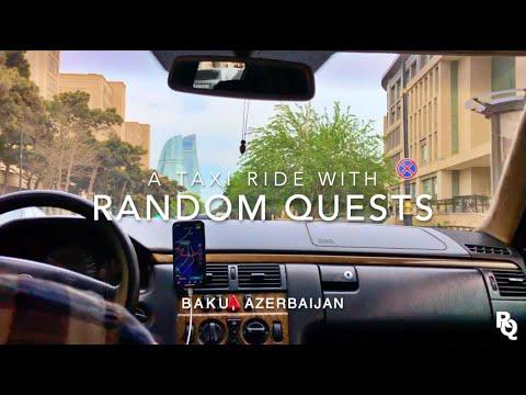 Taxi Driving   BAKU, Azerbaijan 🇦🇿 #3 - [Music Prod. by HoobeZa]