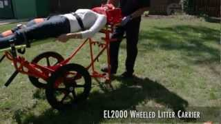FareTec - EL2000 Wheeled Litter Carrier