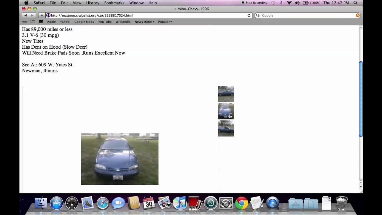 Craigslist Mattoon Illinois Used Cars