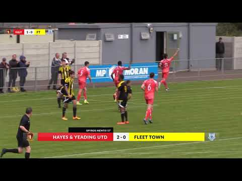 Hayes & Yeading v Fleet Town - 9th Sep 2017