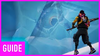Fortnite - Where To Find The Massive Frozen Secret Eyeball (Location Guide)