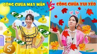 Công Chúa May Mắn & Công Chúa Xui Xẻo ♥ Min Min TV Minh Khoa
