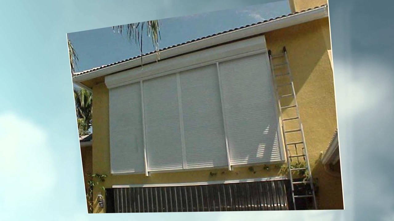 Protect Your Home With Roll Up Shutters In West Palm Beach