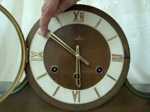 Westminster Melody - Chimes Mantel Clock - Relógio Carrilhão de Mesa (Marca Silco)