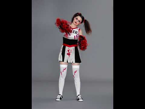 Zombie Cheerleader Costume  sc 1 st  YouTube & Zombie Cheerleader Costume - YouTube