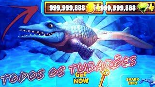 Hungry Shark Evolution-Dinheiro Infinito/Todos os Tubarões ❗