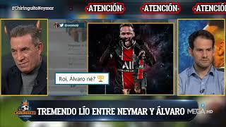 LÍO BRUTAL entre NEYMAR y ÁLVARO González