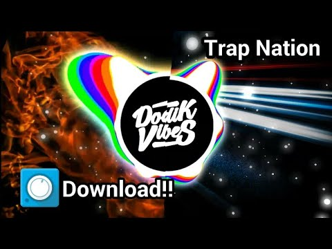 Download!!Trap Nation template Avee Player by Dodik Vibes