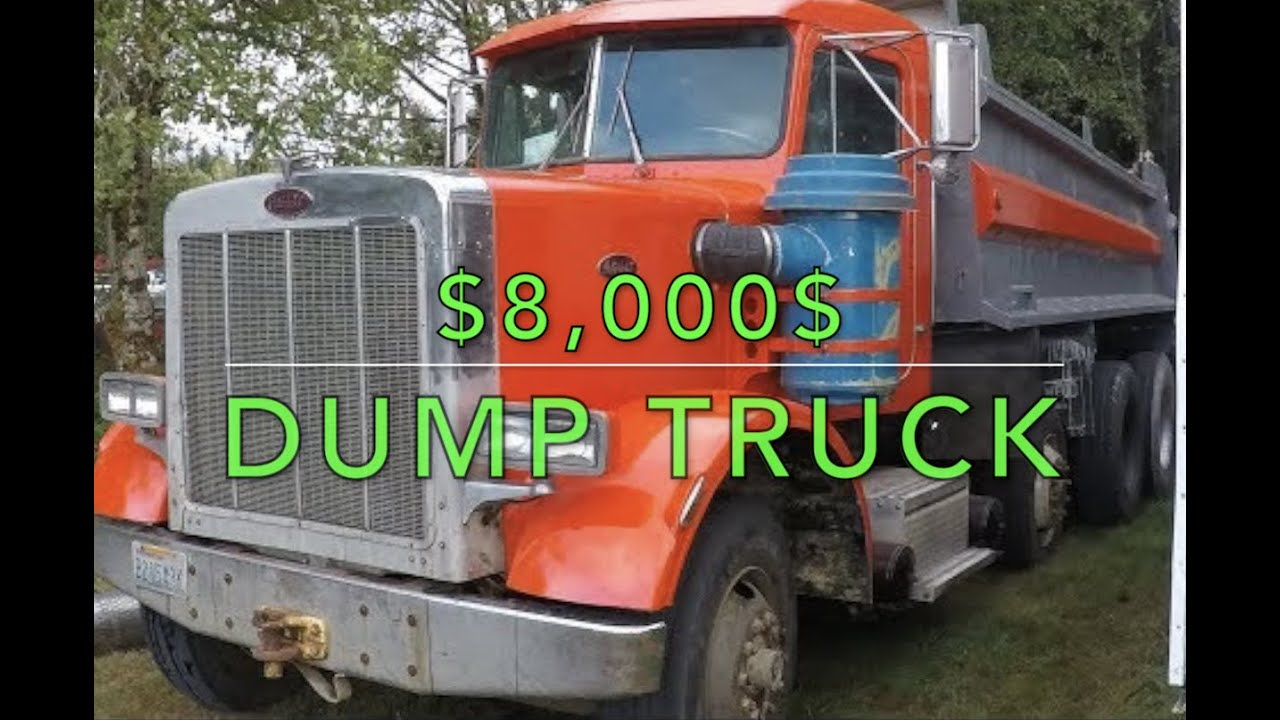 WE BOUGHT THE CHEAPEST DUMP TRUCK ON CRAIGSLIST!!!