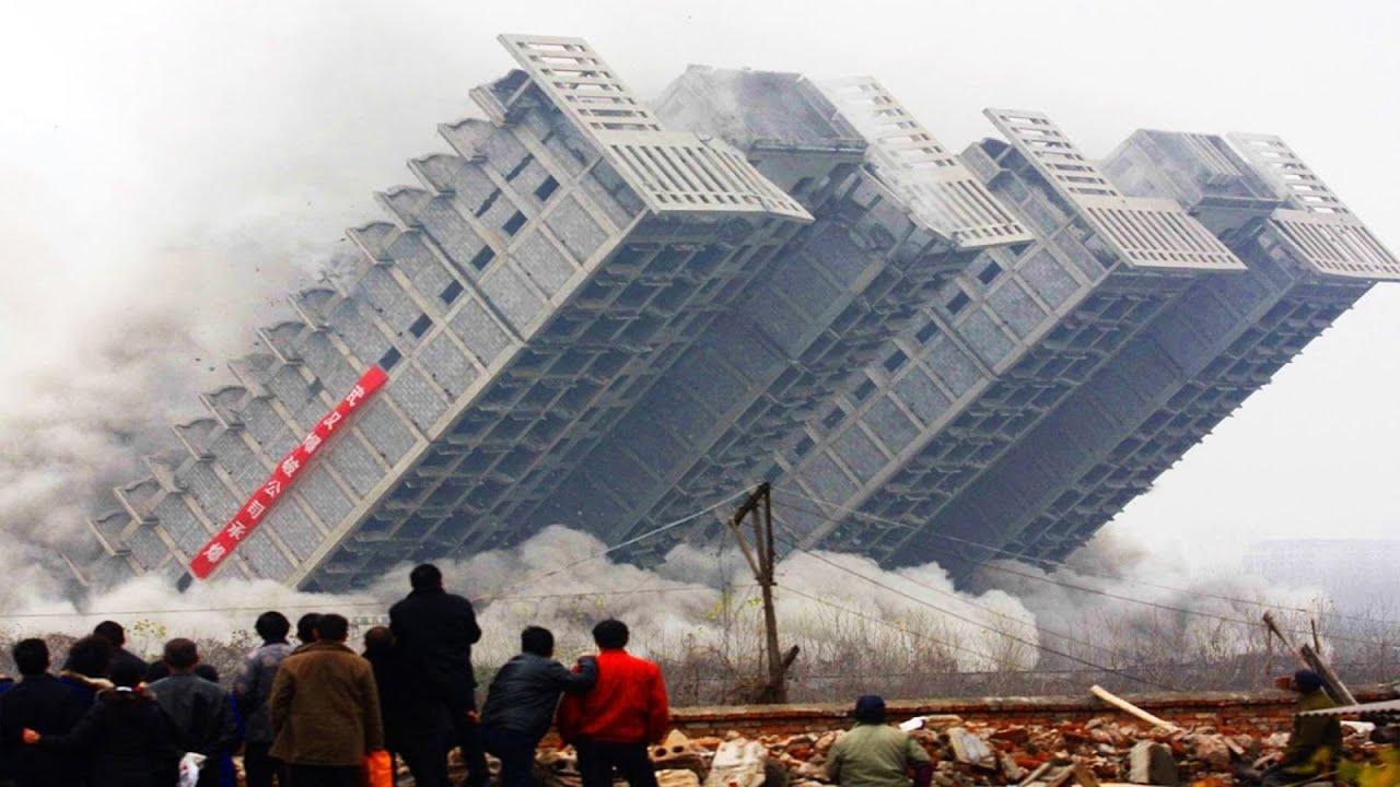衝撃!計画どおりにいかなかったビルの解体 TOP6!