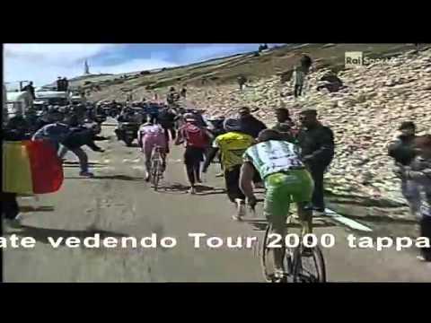 Tour de France 2000 - 12 Mont Ventoux Pantani