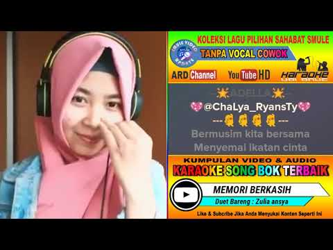 Memori Berkasih Dangdut Koplo Tanpa Vocal Cowok Karaoke Duet Bareng Zulia Ansya