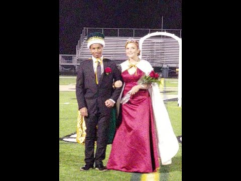 2018 Comstock Park High School Homecoming Ceremony - Crowning of King & Queen