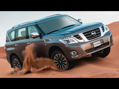 nissan patrol - 2018 luxury interior review - youtube