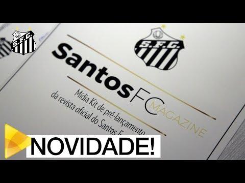Em São Paulo, Peixe realiza pré-lançamento da Santos FC Magazine