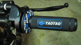 Tao-Tao Db-17 125cc Pit Bike Start Up (How To)