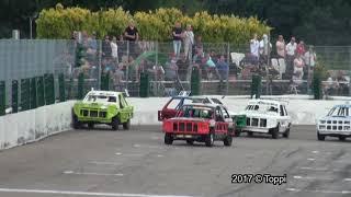 Posterholt Raceway 13-08-2017 Stockcar 1300 2e Manche + Huldiging (7'44)