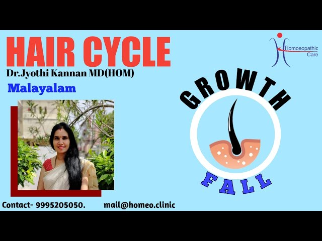 HAIR CYCLE- STAGES OF HAIR IN MALAYALAM