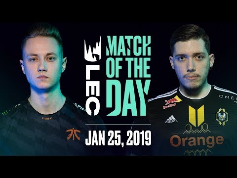 #LEC Match of the Day | Fnatic vs Team Vitality | Friday 25th