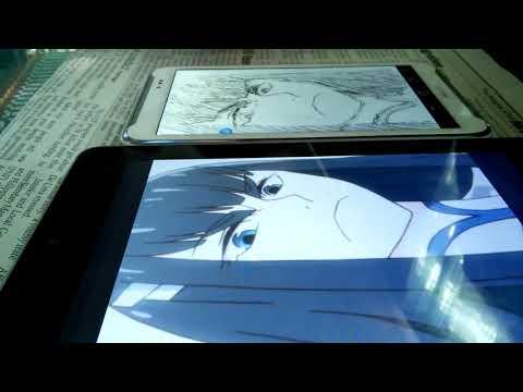 Asus Fonepad Note 6 Speed Drawing - Kiryuin Satsuki (Kill La Kill)
