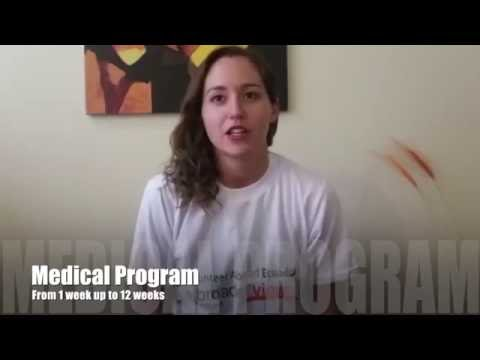 Video Review Volunteer Jennifer Fields in Ecuador Quito at the Medical program with Abroaderview.org