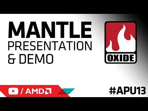 Oxide Games AMD Mantle Presentation and Demo