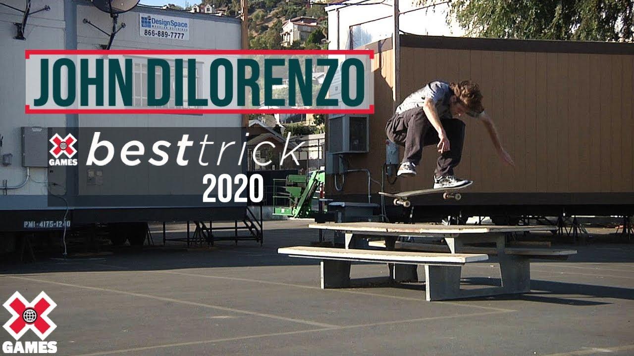 John Dilorenzo: REAL STREET BEST TRICK 2020 | World of X Games