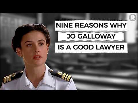 Nine Reasons Why Jo Galloway Is a Good Lawyer | The Ringer