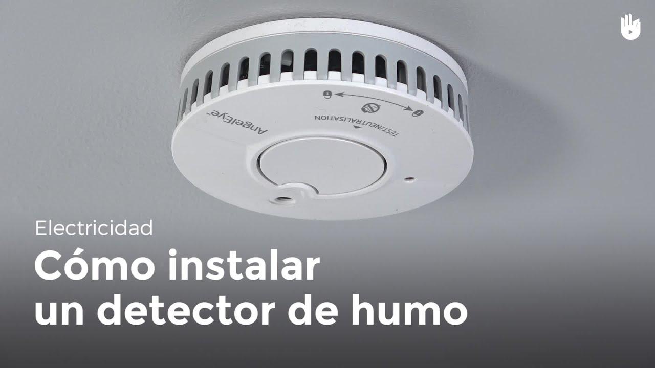 Cómo instalar un detector de humo | Bricolaje DIY - YouTube