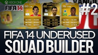 FIFA 14 Underused Players Squad Builder - ft. IF Montillo Baptista & Costa - VERY unique Hybrid