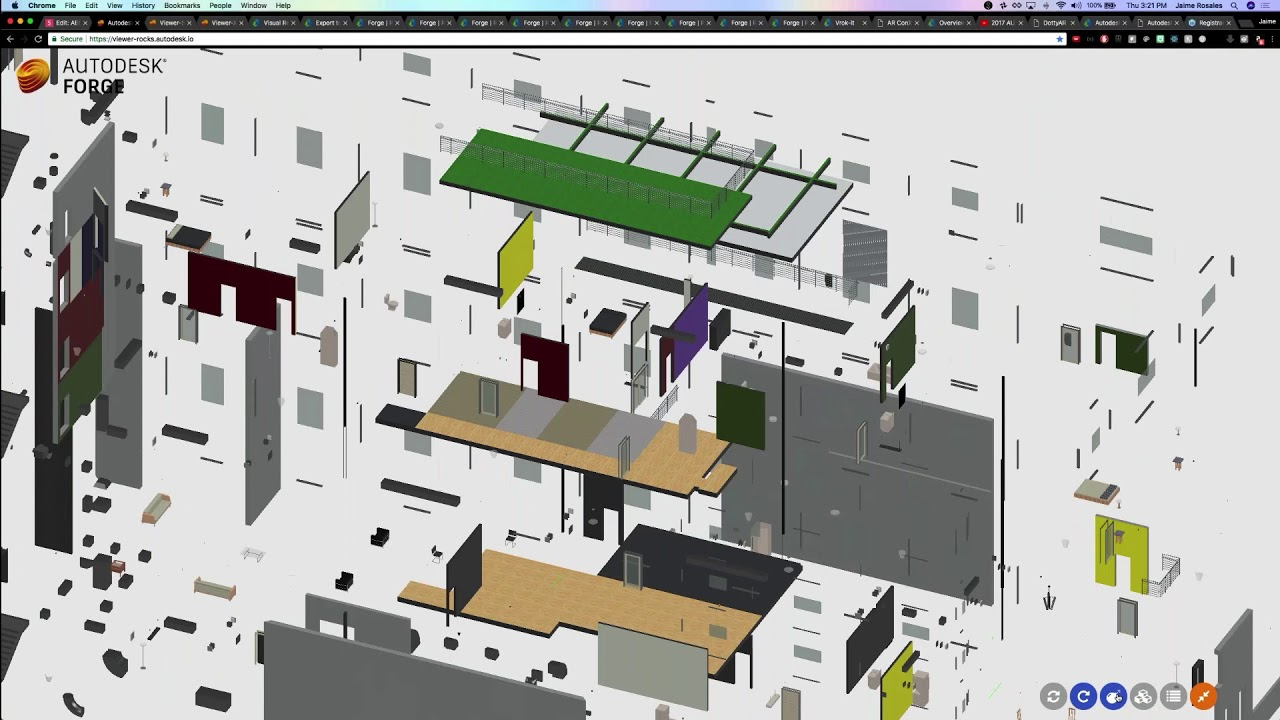 Viewing your 3D BIM data in the cloud with Autodesk Forge